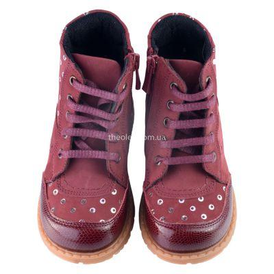 Ботинки для девочек 323 | фото 3