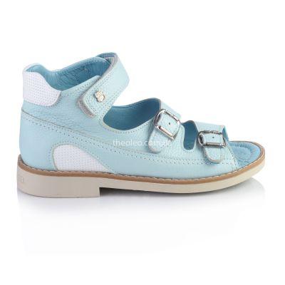 Босоножки для девочек 330 | Бирюзовая классическая обувь для девочек, для мальчиков