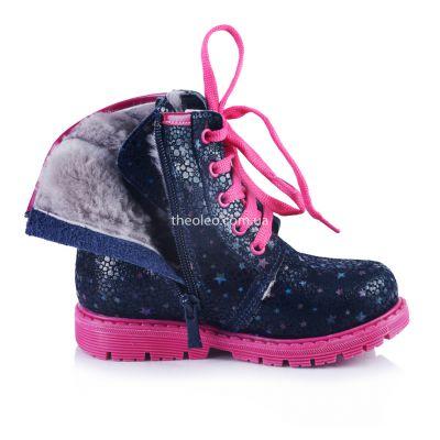 Зимние ботинки для девочек 338