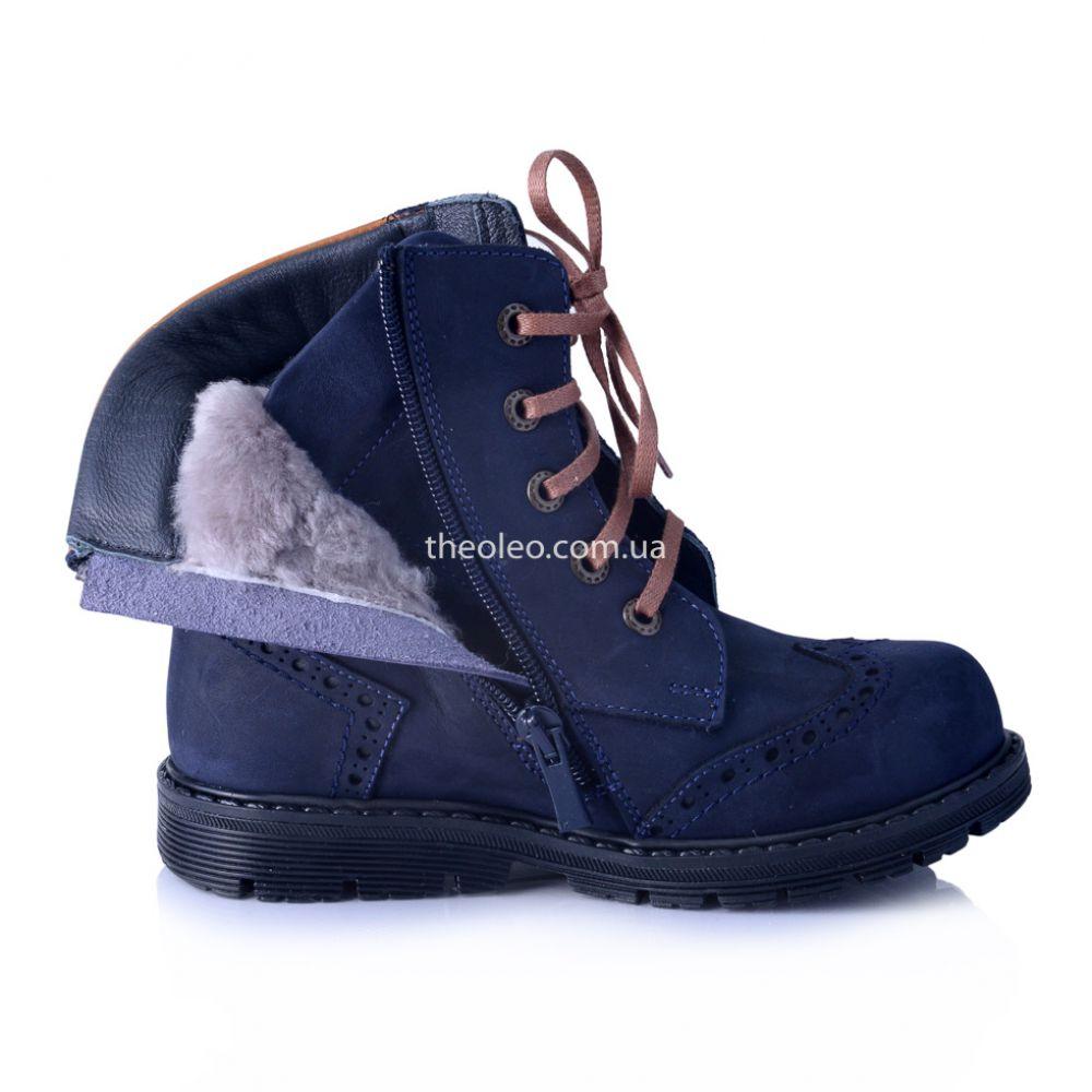 Зимові черевики з підкладкою з натурального хутра 8bc545cabbc70