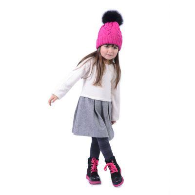 Зимние ботинки для девочек 358 | фото 6