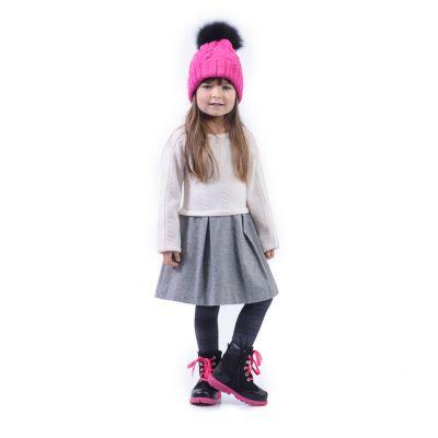 Зимние ботинки для девочек 358 | фото 7