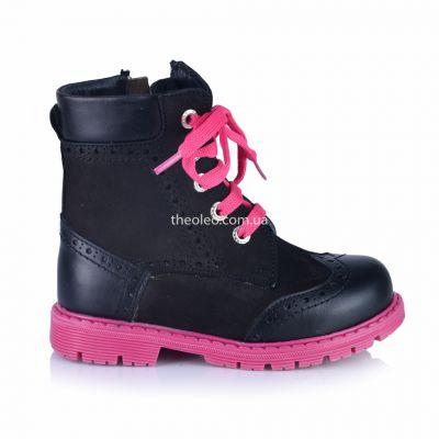 Зимние ботинки для девочек 358 | Распродажа зимней детской обуви