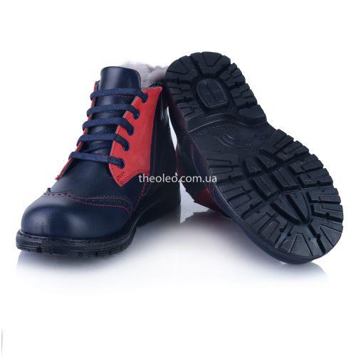 Зимние ботинки 354   Детская обувь 21,2 см оптом и дропшиппинг
