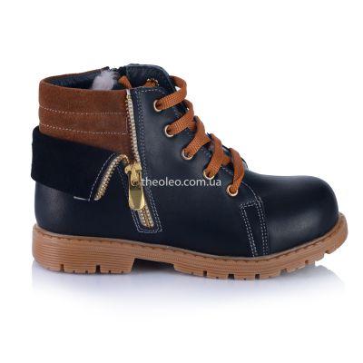 Зимние ботинки для мальчиков 361 | Распродажа зимней детской обуви