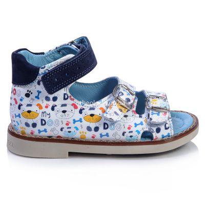 Босоножки для мальчиков 376 | Белая детская обувь 22 размер дорого