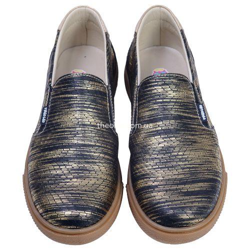 Слипоны для девочек 393 | Детская обувь 21,7 см оптом и дропшиппинг