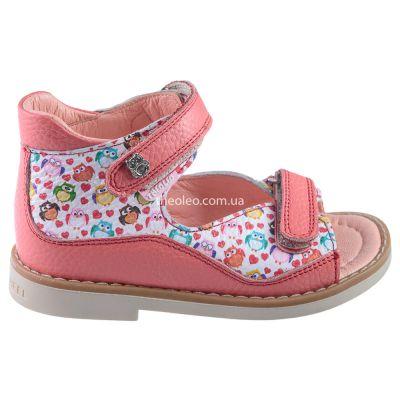 Босоножки для девочек 411 | Бежевые, розовые приглушенные, розовые модные туфли, босоножки для девочек 5, 6 лет 27 размер