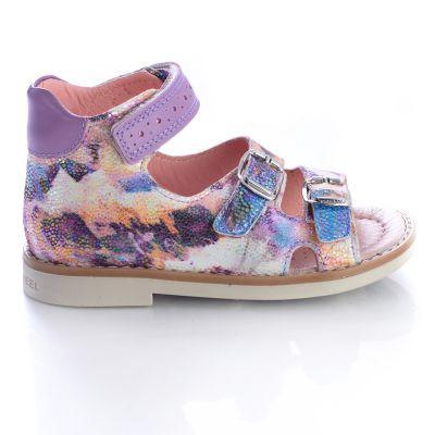 Босоножки для девочек 431 | Бежевые, розовые приглушенные, розовые модные туфли, босоножки для девочек 5, 6 лет 27 размер