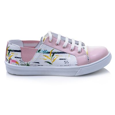Мокасины для девочек 422 | Белая детская обувь 12 лет 31 размер