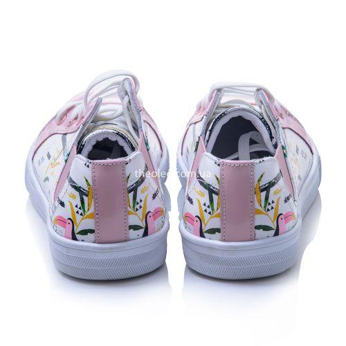 Мокасины для девочек 422 | Детская обувь 21,7 см оптом и дропшиппинг