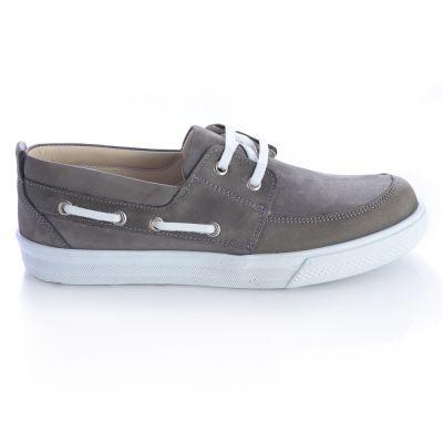 Мокасины для мальчиков 433 | Серая осенняя детская обувь