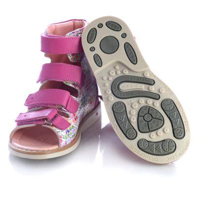 Ортопедические босоножки для девочек 458
