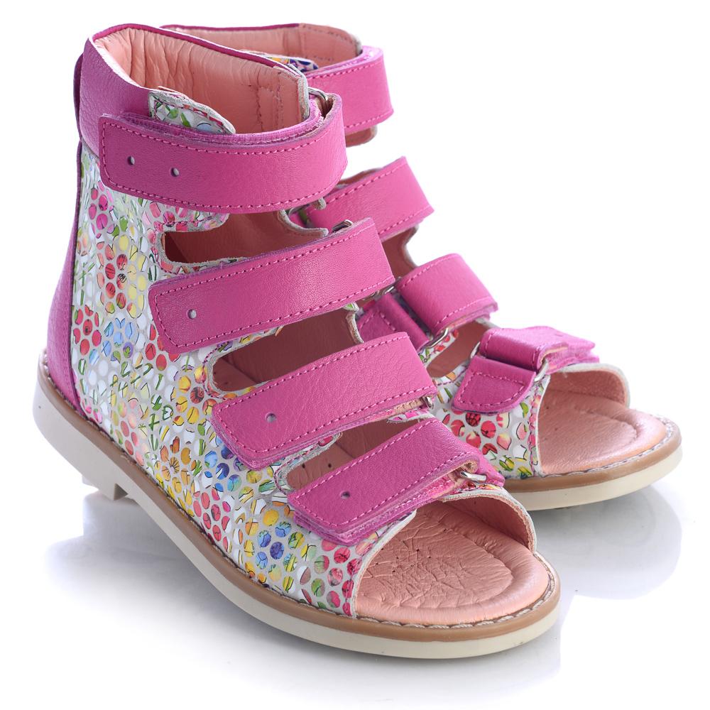 Ортопедичні босоніжки для дівчаток 458  купити дитяче взуття онлайн ... 397fb3d7c7223