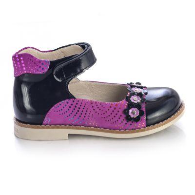 Туфли для девочек 464 | Бежевые, розовые приглушенные, розовые модные туфли, босоножки для девочек 5, 6 лет 27 размер
