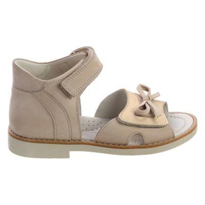 Босоножки для девочек 506 | Бежевые, розовые приглушенные, розовые модные туфли, босоножки для девочек 5, 6 лет 27 размер