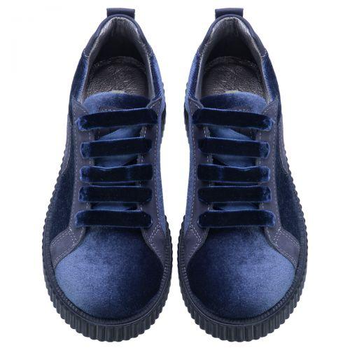 Туфли для девочек 509 | Текстильная детская обувь оптом и дропшиппинг