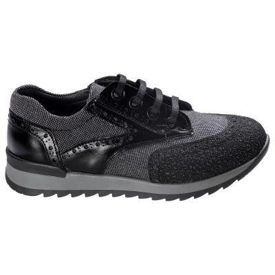 Кроссовки для мальчиков 540 | Серая осенняя детская обувь