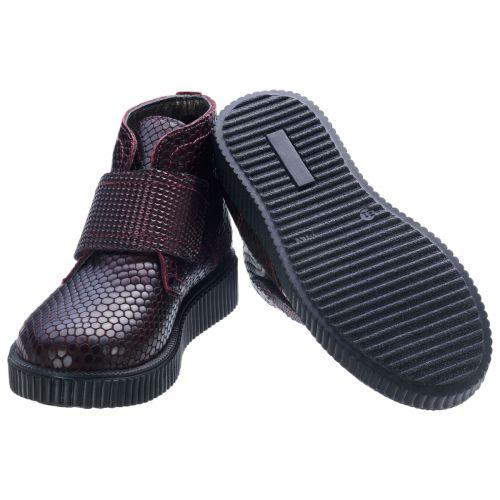Ботинки для девочек 557 | Детская обувь оптом и дропшиппинг