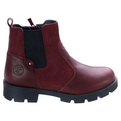 Ботинки для девочек 558 | Бордовая обувь для девочек, для мальчиков 8 лет