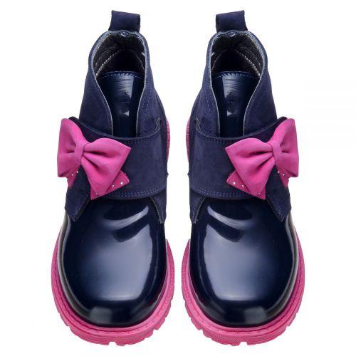 Ботинки для девочек 571 | Детская обувь 20,8 см оптом и дропшиппинг