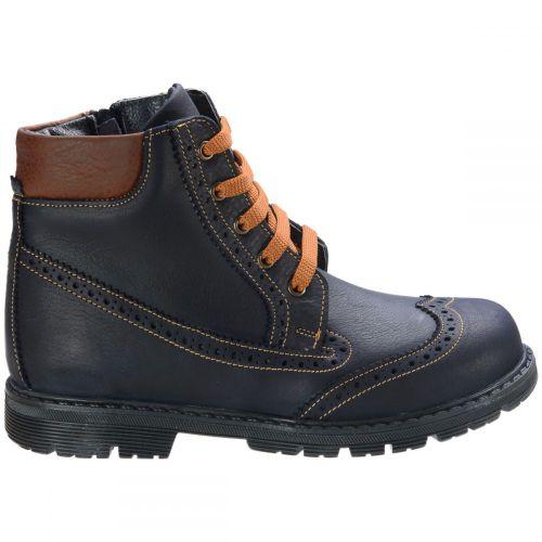 Ботинки для мальчиков 572 | Высокая детская обувь оптом и дропшиппинг