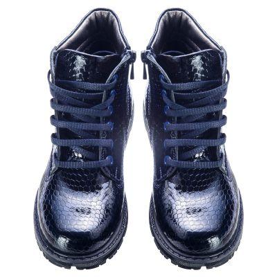 Ботинки для девочек 582 | фото 2