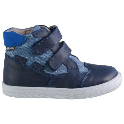 Ботинки для мальчиков 603 | Осенняя текстильная детская обувь