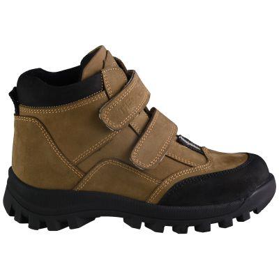 Ботинки для мальчиков 611 | Бежевая школьная детская обувь дорого