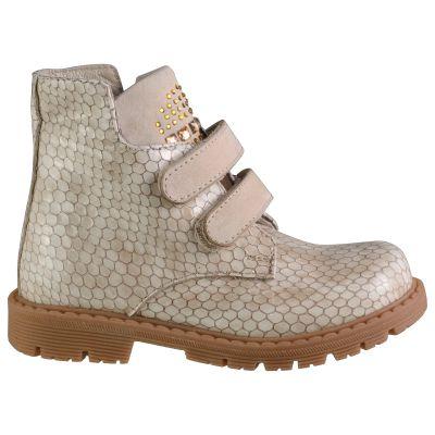 Ботинки для девочек 612 | Бежевая обувь для девочек, для мальчиков 9 лет