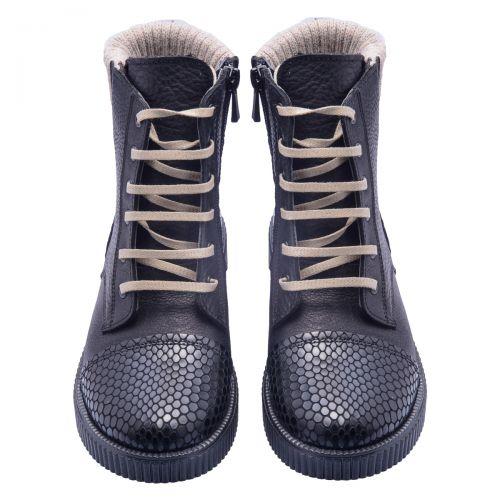 Ботинки для девочек 617 | Текстильная детская обувь оптом и дропшиппинг