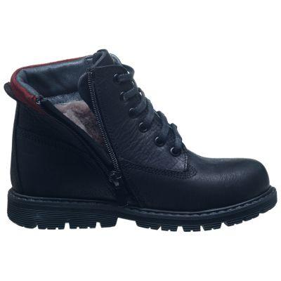 Зимние ботинки для мальчиков 629 | Распродажа кожаной детской обуви