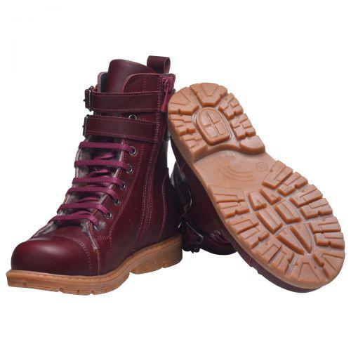 Зимние ботинки для девочек 630 | Детская обувь оптом и дропшиппинг