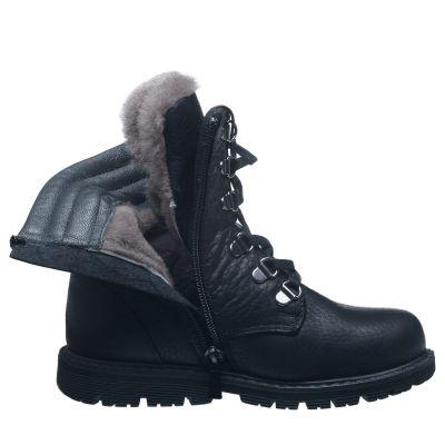 Зимние ботинки для мальчиков 631 | Распродажа кожаной детской обуви