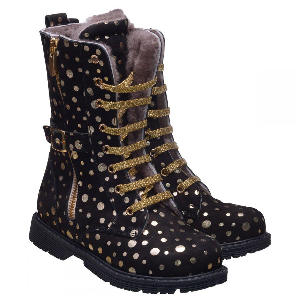 Зимові черевики для дівчаток 634  купити дитяче взуття онлайн f89288ae9c1f5