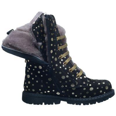 Зимние ботинки для девочек 634 | Распродажа классической детской обуви