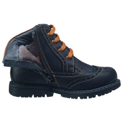 Зимние ботинки для мальчиков 636 | Распродажа классической детской обуви