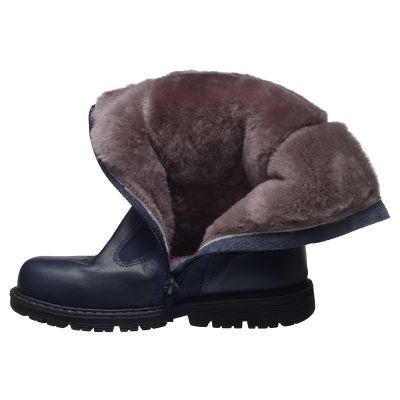 Зимние сапоги для девочек 638 | Распродажа кожаной детской обуви
