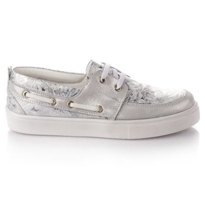 Кроссовки для девочек 648 | Белая детская обувь 7 лет 26,3 см