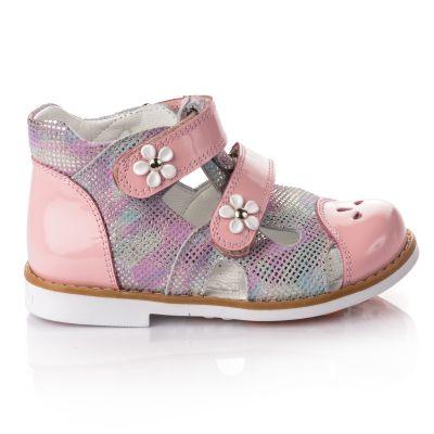 Босоножки для девочек 649 | Бежевые, розовые приглушенные, розовые модные туфли, босоножки для девочек 5, 6 лет 27 размер