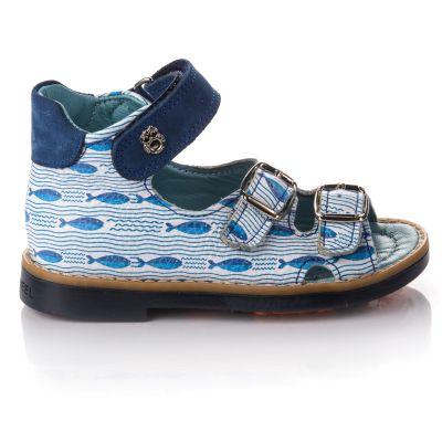 Босоножки для мальчиков 661 | Белая обувь для девочек, для мальчиков 14 см