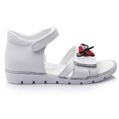 Сандали для девочек 674 | Белая обувь для девочек, для мальчиков 12 лет