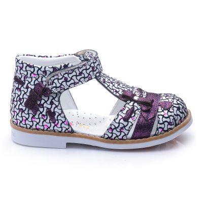 Босоножки для девочек 679 | Белая детская обувь 24 размер 19 см