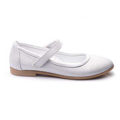 Туфли для девочек 690 | Белая обувь для девочек, для мальчиков 7 лет