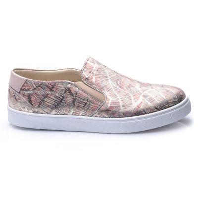 Слипоны для девочек 698 | Бежевая обувь для девочек 38 размер