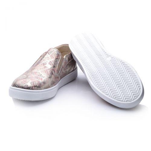 Слипоны для девочек 698 | Детская обувь 23,6 см оптом и дропшиппинг