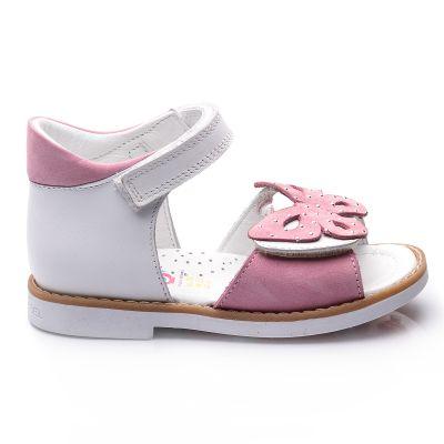 Босоножки для девочек 700 | Белая детская обувь 24 размер 14 см