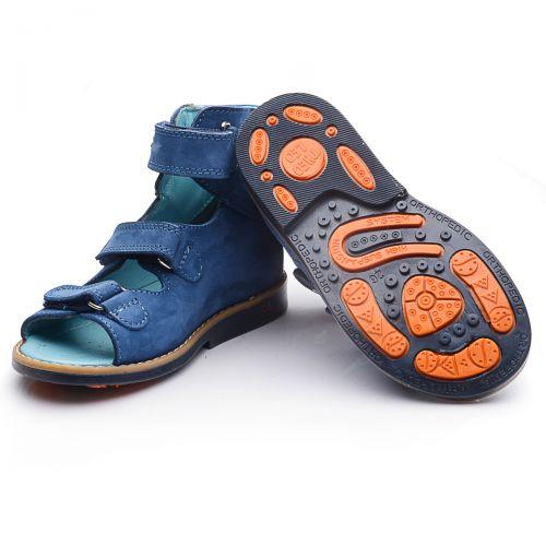 Ортопедические босоножки 718 | Детская обувь оптом и дропшиппинг
