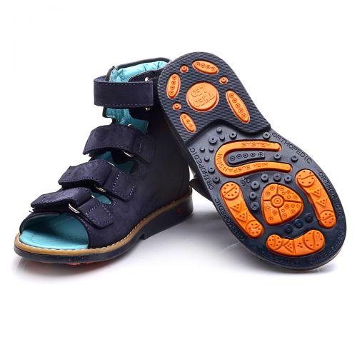 Ортопедические босоножки для мальчиков 719 | Высокая детская обувь оптом и дропшиппинг