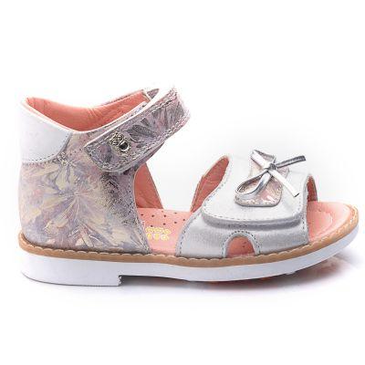 Босоножки для девочек 720 | Белая детская обувь 21 размер 18 см